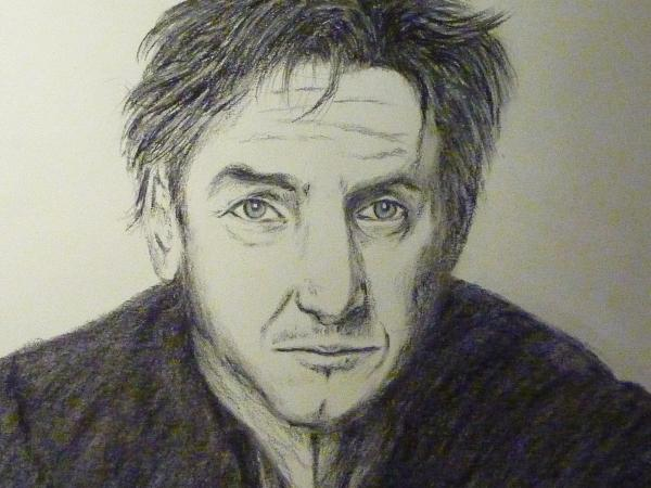 Sean Penn by Moinet